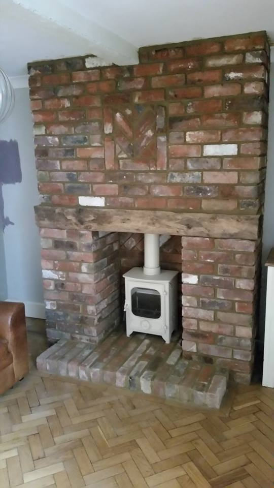 One of the stylish stoves we have installed to create a beautiful fireplace